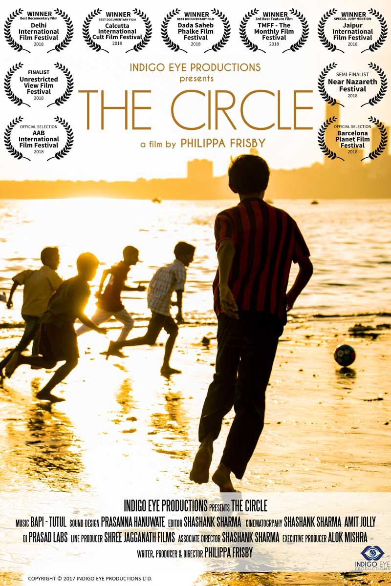 Indigo Eye Productions presents The Circle, a film by Philippa Frisby
